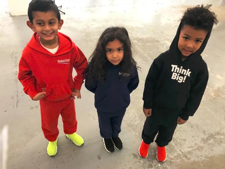 SSENSE THINKING BIG! BALENCIAGA KIDS TAKE OVER SSENSE Fashion Celebrity Trending Style