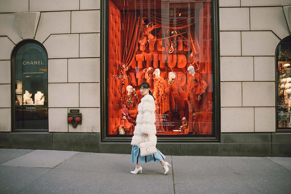 JingLeng Jing Leng x Bergdorf Goodman 时尚搭配美女帅哥明星