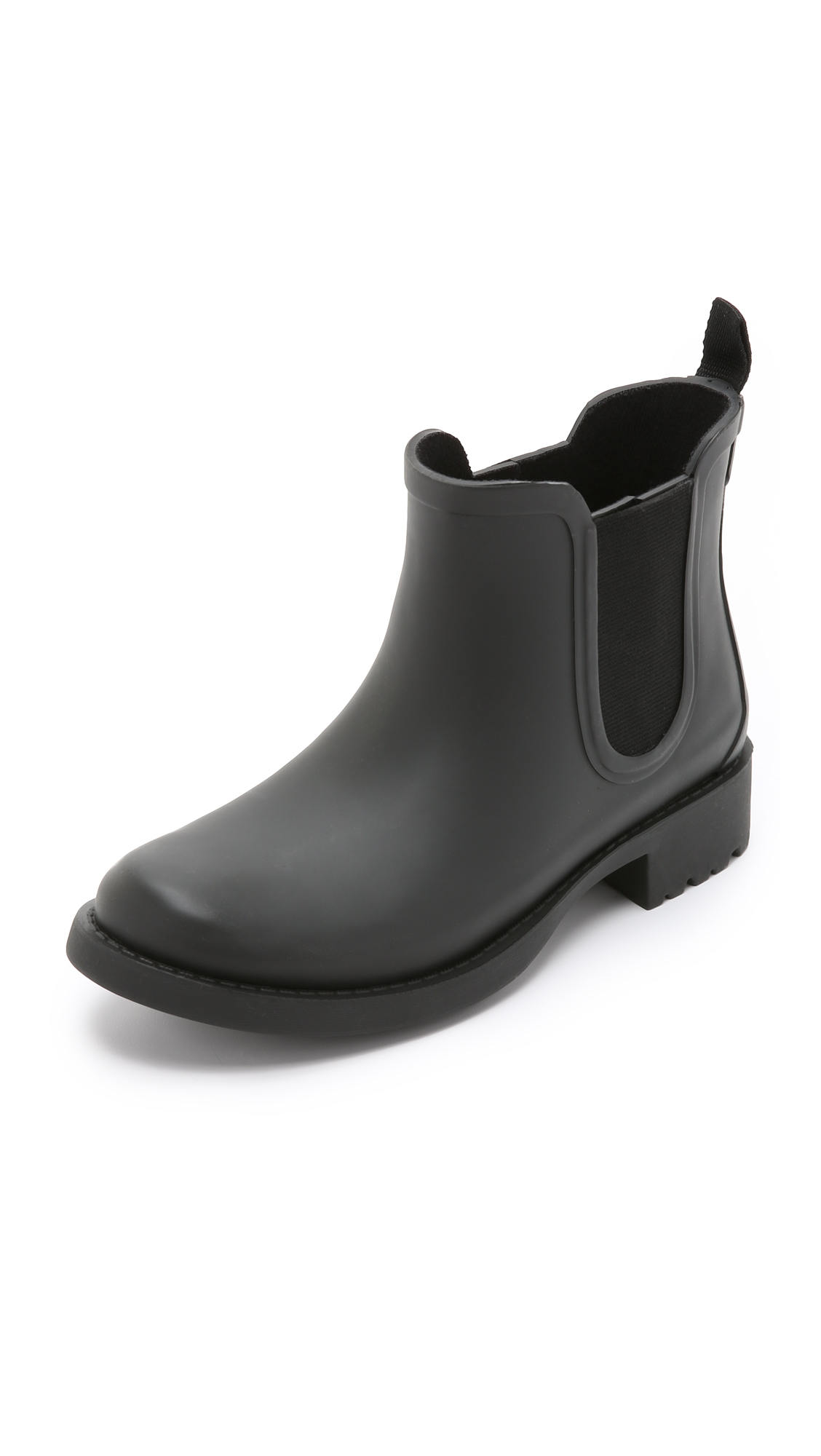 The Chelsea Rain Booties, True Black