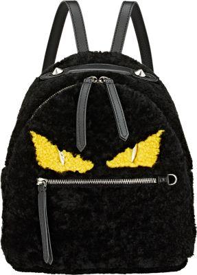 Fendi Monster Backpack Shearling