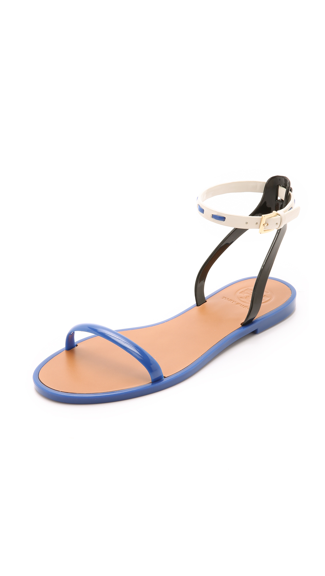 Sale Latest Tory Burch Leather Ankle Strap Sandals Pay With Visa Cheap Online Cheap Shop Offer Cheap For Nice Clearance Pre Order SrKLnTM0