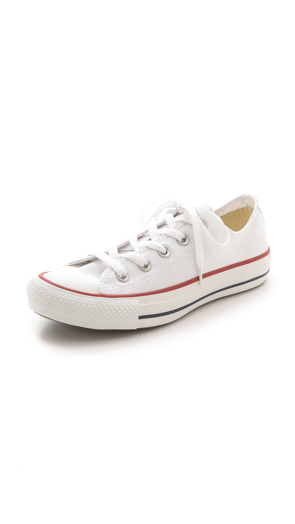 Unisex Chuck Taylor All Star Ox Casual Sneakers From Finish Line in 102 Optical White from MR PORTER