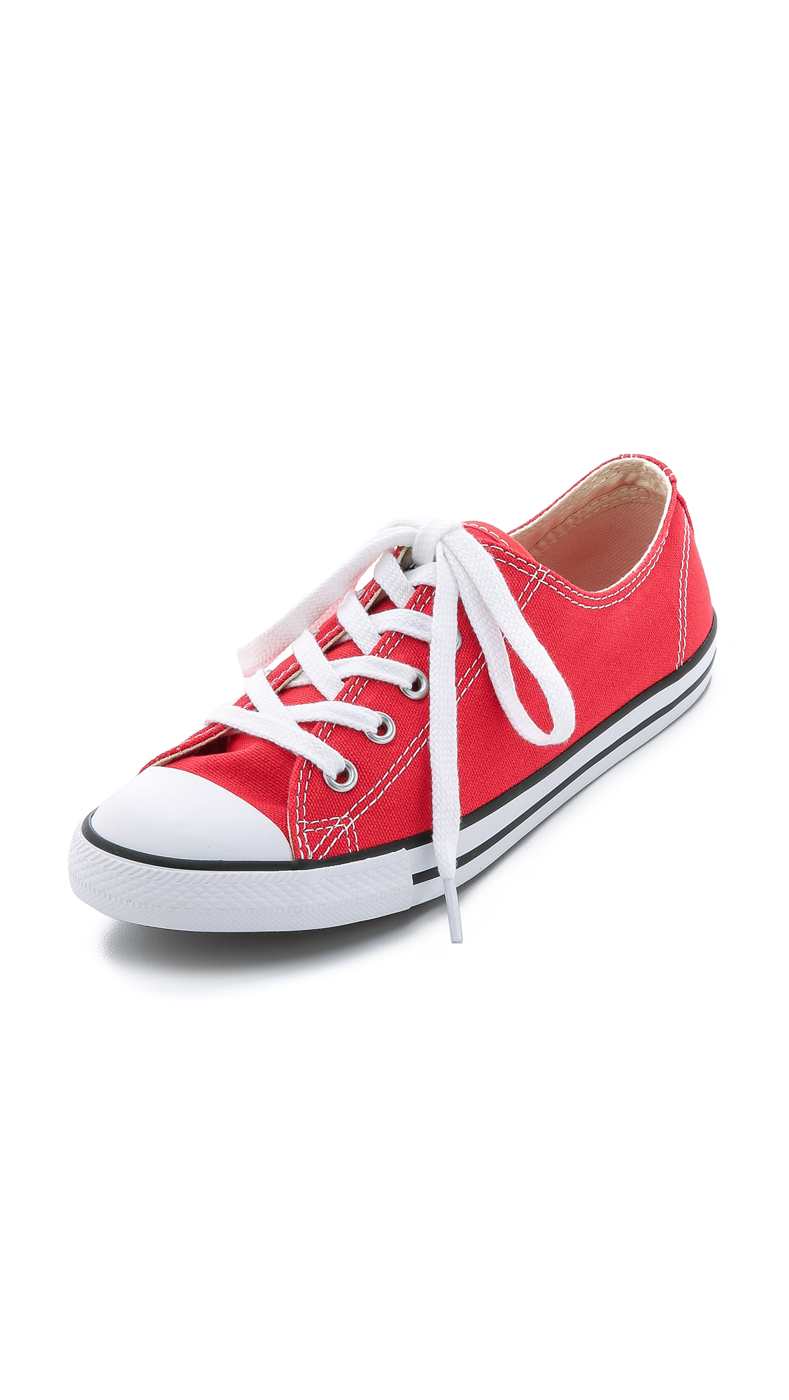 Men'S Chuck Taylor All Star Sneakers From Finish Line in Red/White