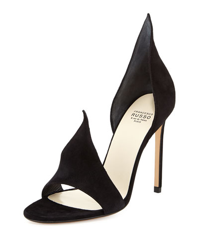 Mytheresa.Com Exclusive Suede Sandals, Black