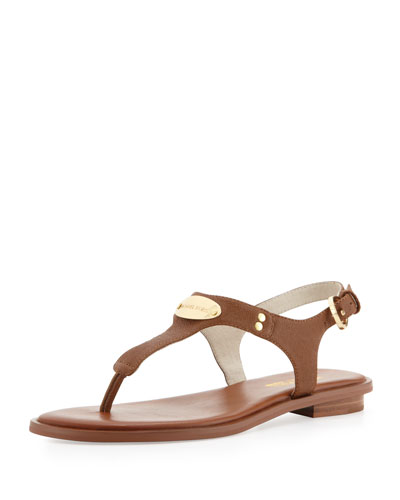 Mk Plate Thong Sandals, Luggage