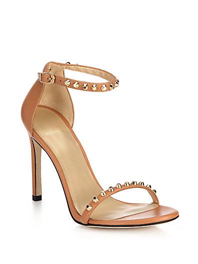 Stuart Weitzman Studded sandals Qs5FmSOP0i