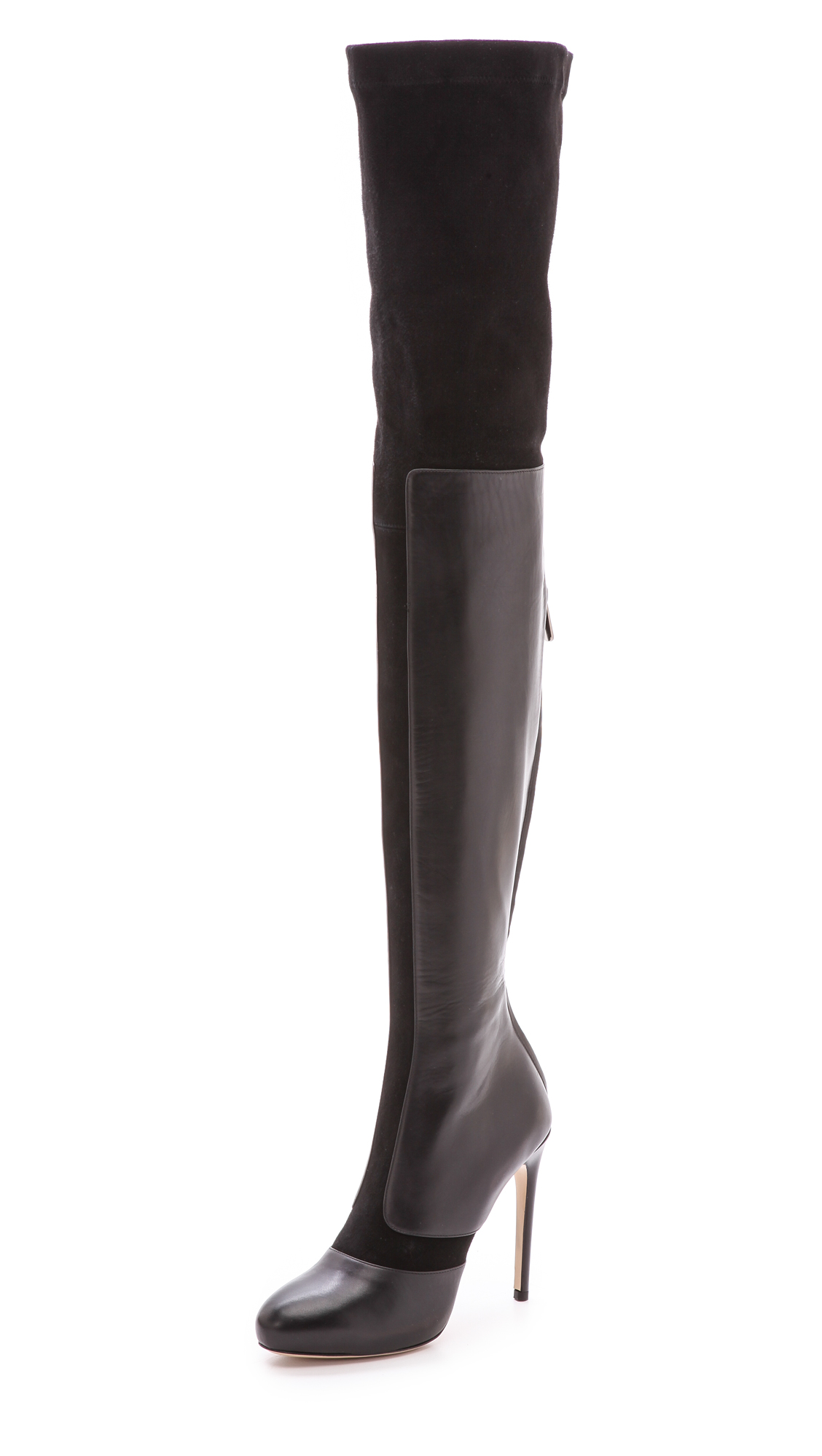 huge discount high quality on feet images of Paul Andrew 'Chrysler' Over The Knee Boot (Women) (Narrow Calf) In ...