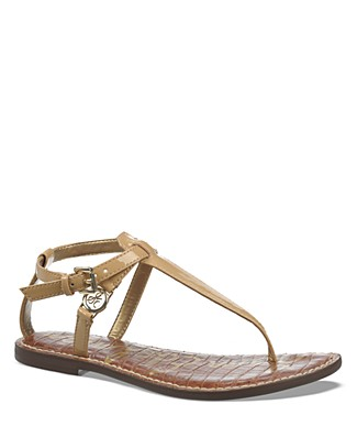 'Gigi' Sandal (Women) in Saddle Leather
