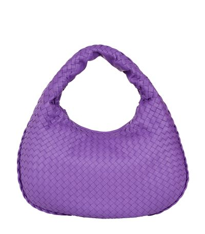 942bb63726 Bottega Veneta Medium Intrecciato Veneta Hobo Bag In Byzant ...