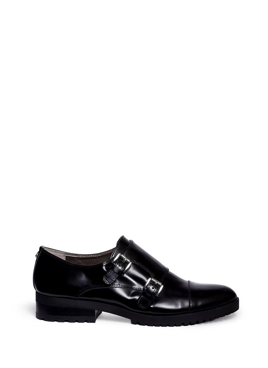 Womens Shoes Sam Edelman Melanie Brown/Black