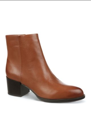 76038456a809b Sam Edelman Joey Mid Heel Booties In Mid Brown