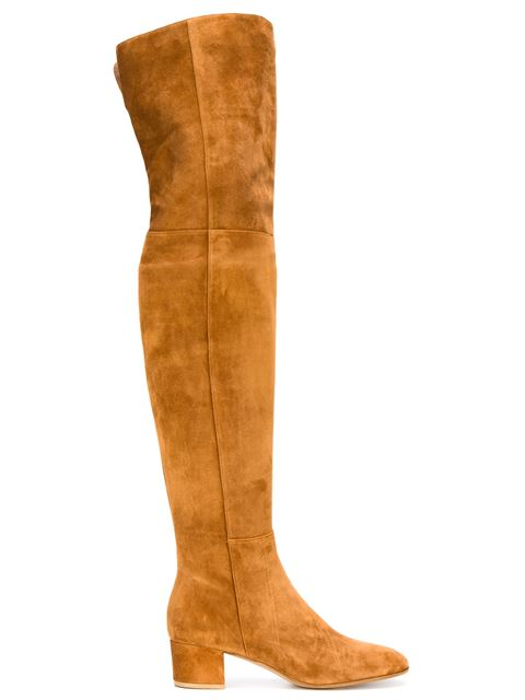 GIANVITO ROSSI 'Rolling High' Thigh High Boots