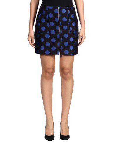 SUNO Mini Skirt in Bright Blue