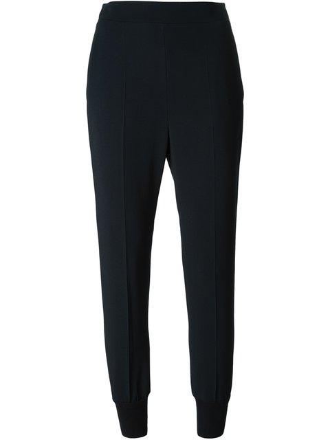 Julia Stretch-Cady Trousers, Blue