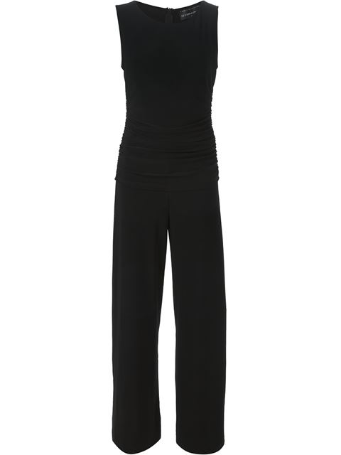 Kamali Kulture Shirred Waist Jumpsuit in Black