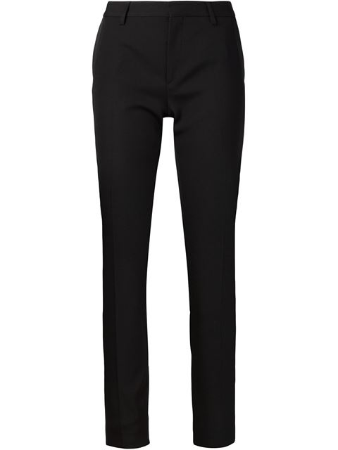 Sanded Trousers in Black