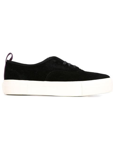 EYTYS Black Doja Low Top Suede Sneakers