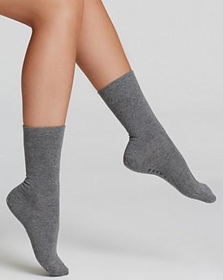 FALKE Sensitive London Ergonomic Socks in Black