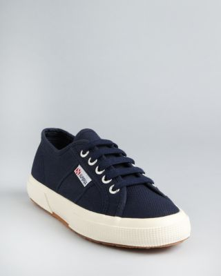 SUPERGA Cotu Classic 2750 Navy Canvas Sneakers - Navy