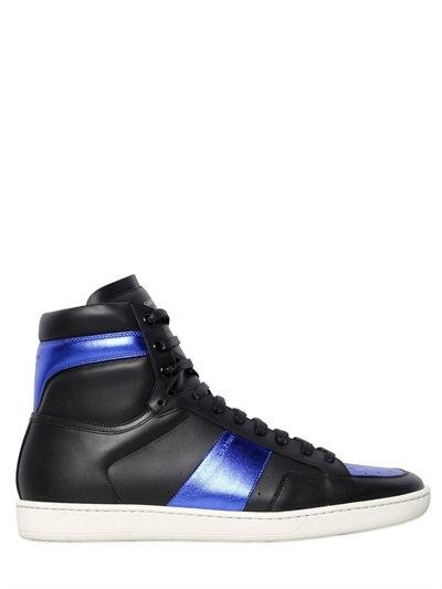 signature court classic SL/10H high top sneakers - Black Saint Laurent FoAyZF