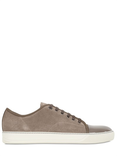 Cheap Really For Sale Lanvin Contrast Cap Toe Leather ... Lanvin Clearance Cheap Free Shipping New Styles Outlet Store Cheap Online mkwiEr