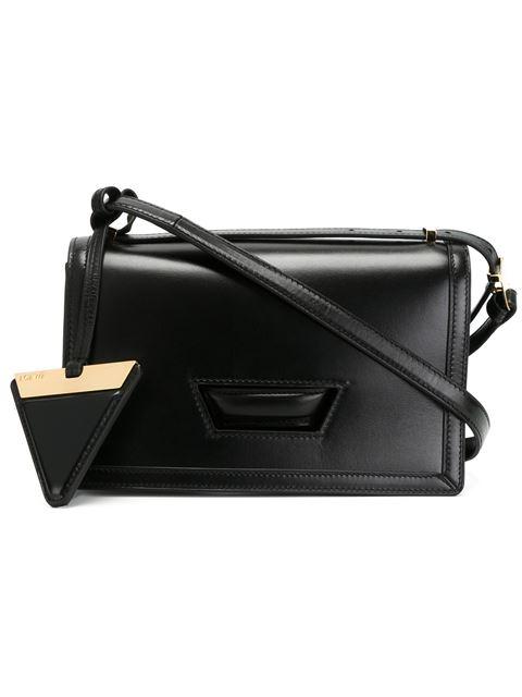 Barcelona Leather Bag in Black