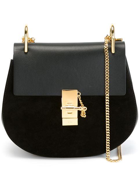 'Drew' Shoulder Bag, Black