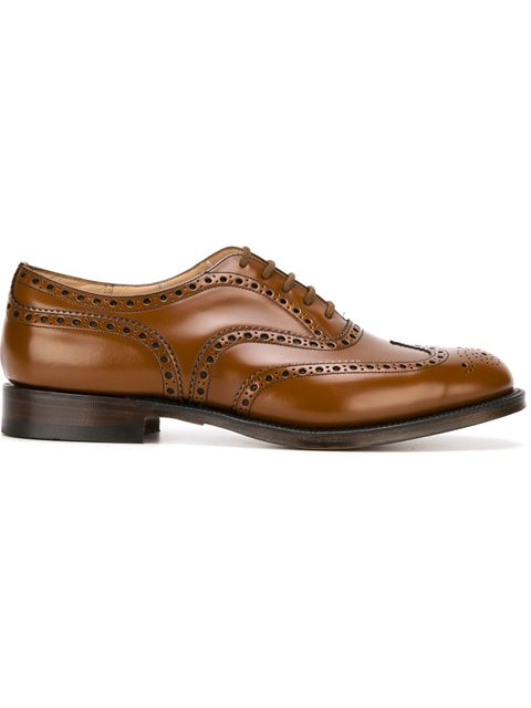 Office Berlin Wingtip Leather Oxfords, Sandalwood