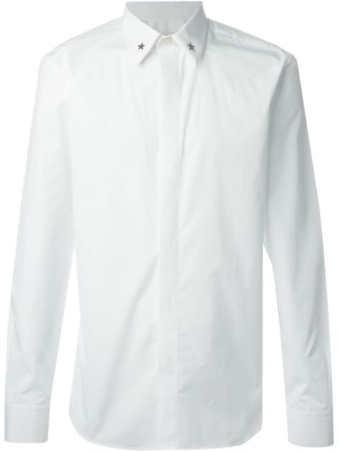 Embroidered Cotton-poplin Shirt - WhiteGivenchy