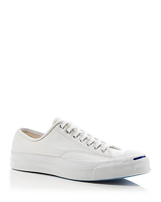 CONVERSE Unisex Jack Purcell Signature Low Sneakers In White