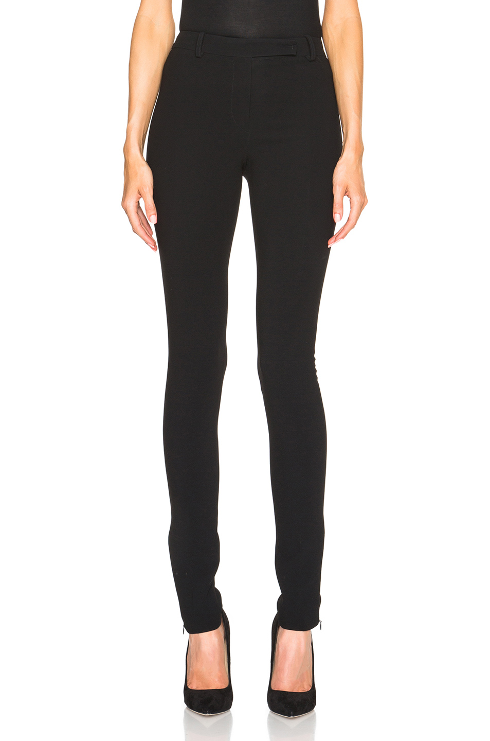 Henri Skinny Pants, Black