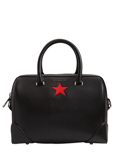 Marque Pas Cher Nouvelle Unisexe Plus Bas À Prix En Ligne Givenchy Moyen Lucrezia Avec Étoile En Noir qz43SPIEy