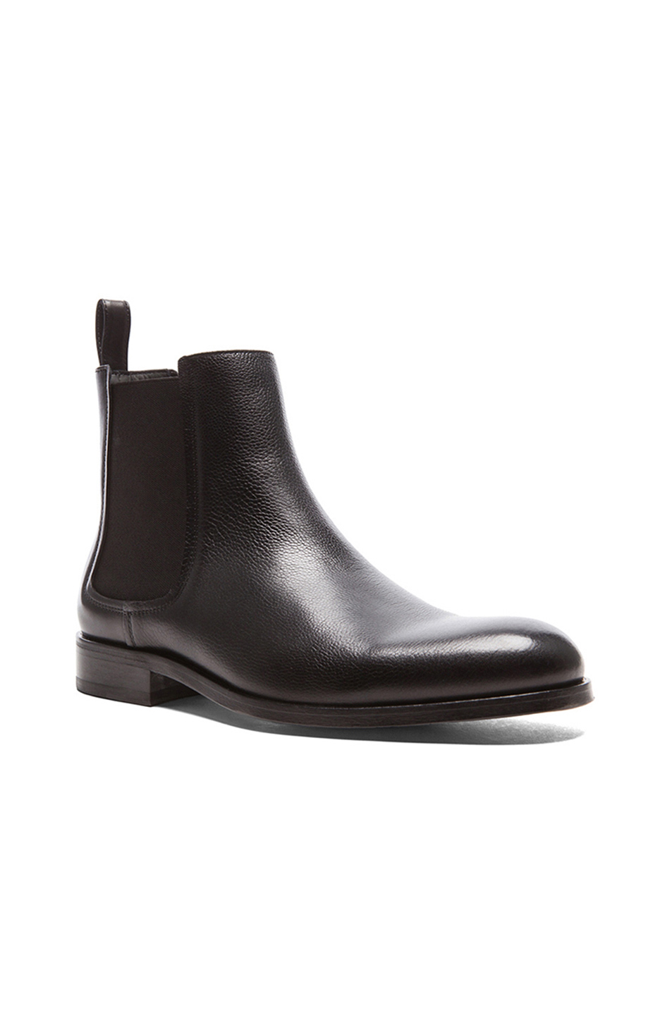 Lanvin Grained Leather Chelsea Boots dpdgGr43f