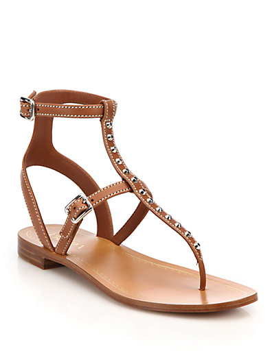 Prada Studded T-Strap Sandals Sale Shop For Nicekicks Online Sale 100% Authentic Outlet 2018 New Discount Best Store To Get dbh2QGwQw