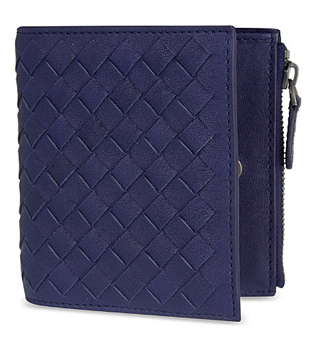 Bottega Veneta Intrecciato Leather Mini Wallet