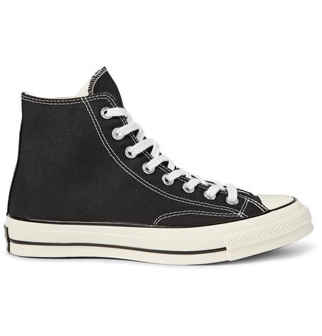 9d5619c4fffee7 CONVERSE Unisex 1970 S Chuck Taylor All Star Hi Sneakers In Black