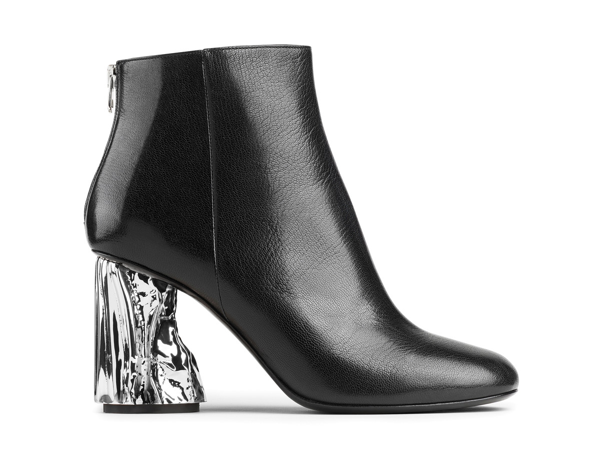 Acne Studios Ora Glass Ankle Boots