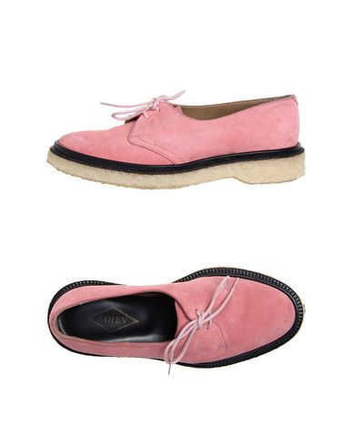 ADIEU Laced Shoes in Pastel Pink