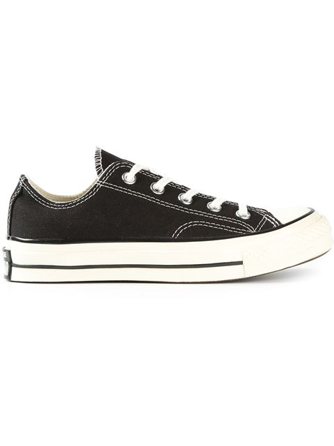 Black Chuck Taylor All Stars 70 Cotton Low-Top Sneakers
