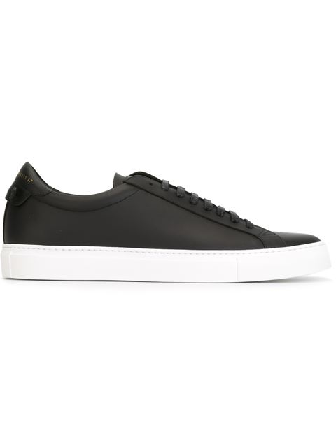 Urban Street Low-Top Sneakers - Black Size 6 M