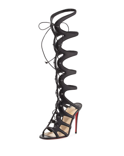 christian louboutin gladiator sandals