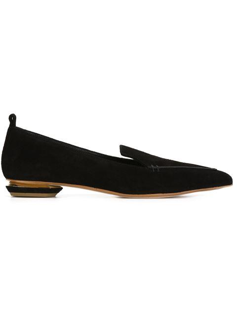 Exclusive To Mytheresa.Com – Beya Velvet Loafers, Black