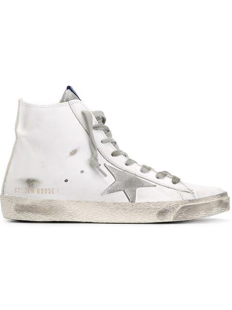 Francy Hi-Top Sneakers in White