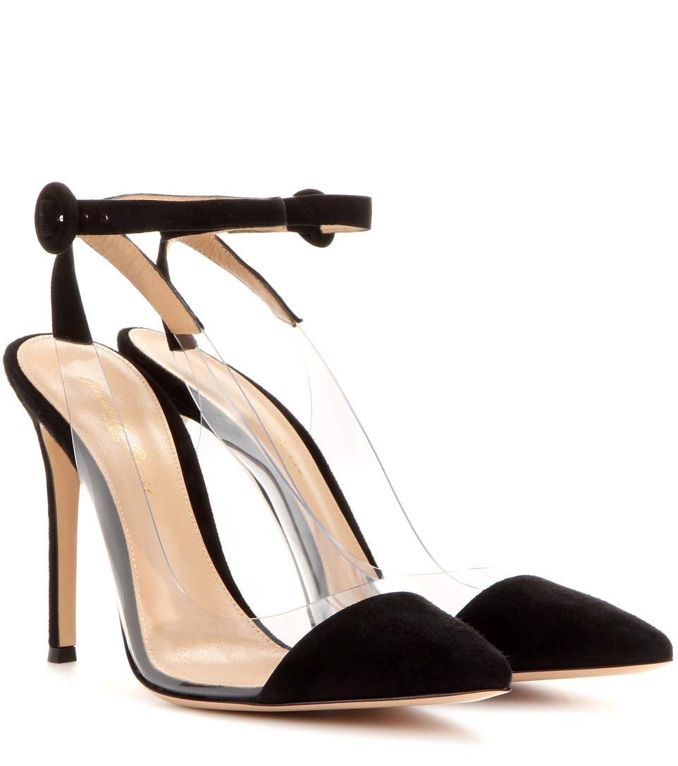 Gianvito Rossi Suede Slingback Pumps Discount Pick A Best Get Authentic Cheap Price 100% Authentic For Sale Outlet Amazing Price Clearance Buy NRM1dY
