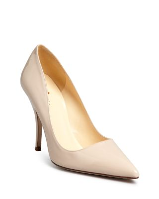 6af38c39a816 KATE SPADE LICORICE PATENT LEATHER POINT-TOE PUMP ...
