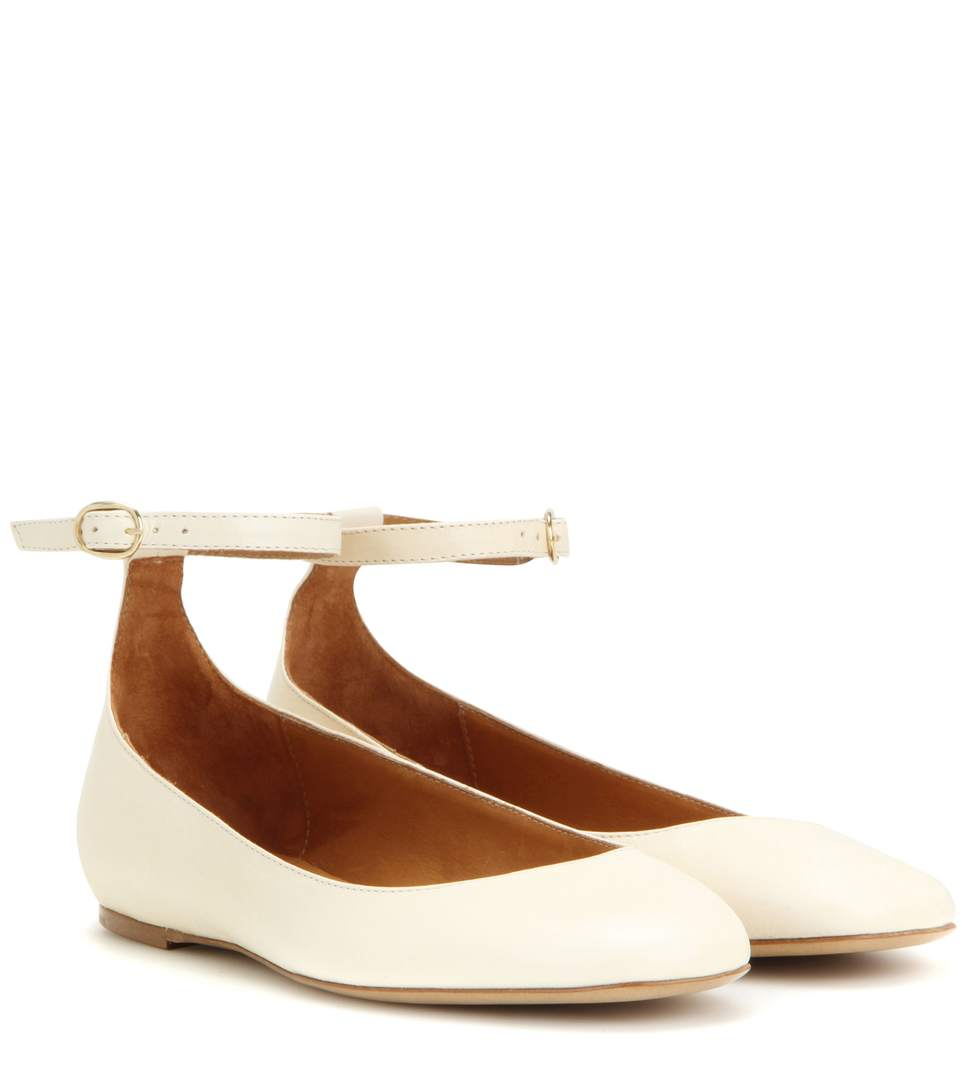Étoile Isabel Marant Lili Ankle-Strap Flats 100% Original Discount Codes Shopping Online Clearance 100% Guaranteed For Sale Footlocker MnziJo2x