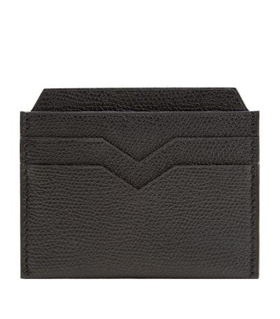 Grained-leather passport holder Valextra Xfx5Btjb98