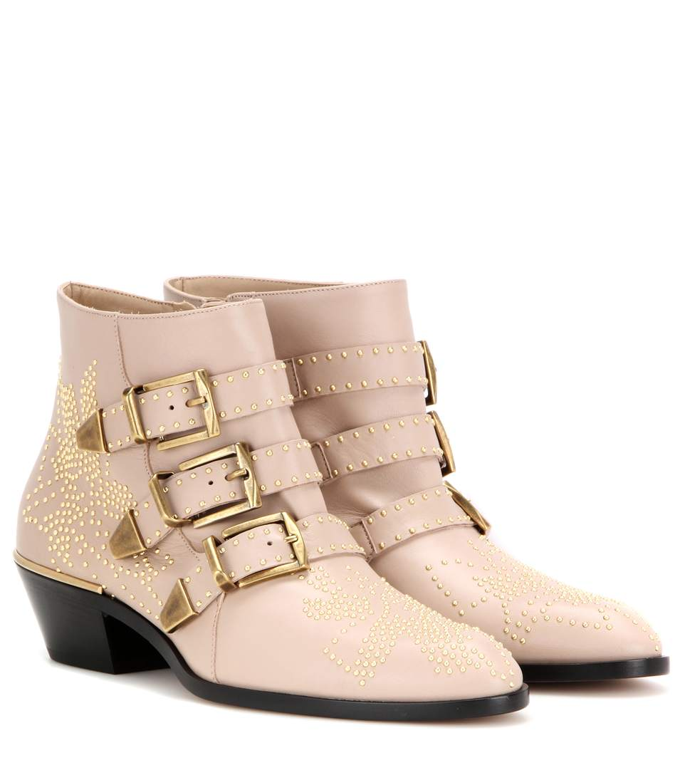 Susanna Ankle Boots - Nr26U Reef Shell Size 10.5 in Neutral