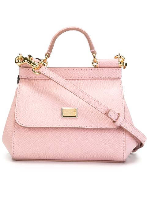Dolce And Gabbana Pink Medium Miss Sicily Bag, Pink & Purple