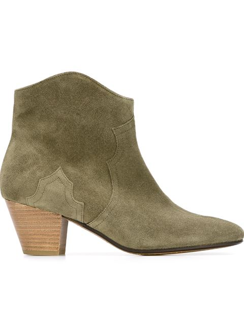 Étoile Dicker 55Mm Suede Ankle Boots in Brown